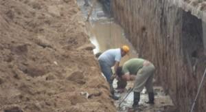 Marcalba S.A. construye desagüe en General Villegas