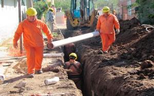 Licitan primera red cloacal para barrios de Cuartel Noveno