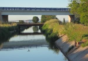 Canales de desagües del Arroyo Golondrinas