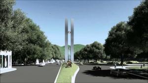 «Monumento al Bicentenario» en San Miguel de Tucumán