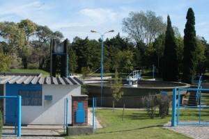 La corporación y el municipio Continuarán las obras de la planta del parque industrial