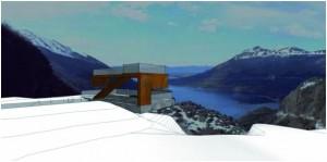 Tierra del Fuego Nuevo Mirador en el Paso Garibaldi $ 5 millones