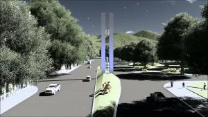 Tucuman monumento del Bicentenario