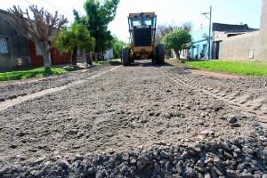 Santa Fe Material para el mejorado de calles