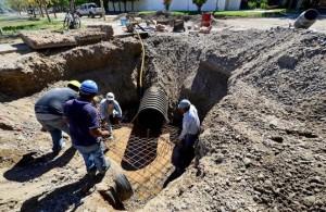 Neuquén Desagües pluviales en Rincón de Emilio $6 millones
