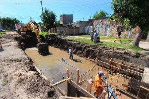 Entre Ríos Desagües pluviales en barrio Capibá $18 millones