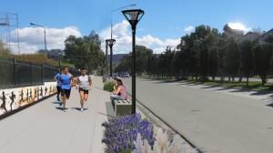 Chubut Remodelarán espacios públicos en Comodoro $1.9 millones