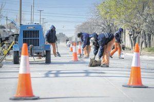 Bahia Blanca Ofertas para pavimentar 175 cuadras $113 millones