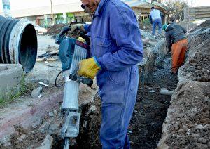 $80 millones en obras de desagües Ciudad Neuquén