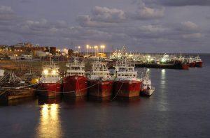 Acondicionamiento del puerto de Deseado