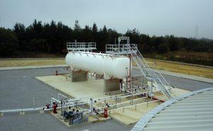 Tres plantas de gas licuado propano en Facundo, Aldea Apeleg y Buen Pasto