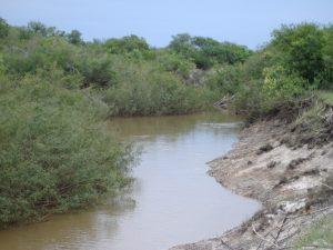 Obra: Acondicionamiento del arroyo Barrancas $105 Millones