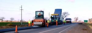 Repavimentar la ruta provincial Nº 2 $294 Millones