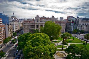 Adjudicaron a Algieri S.A. la Plaza Lavalle $57 Millones