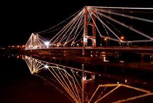 Iluminación del Puente Colgante cuatro ofertas