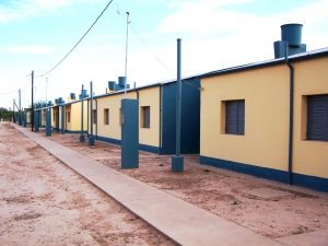Licitaron 20 casas para Trelew