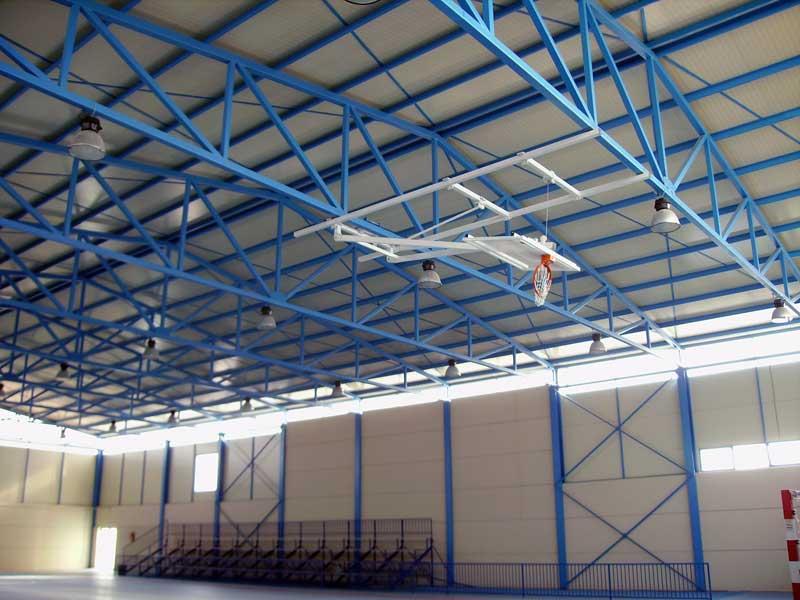Ofertas por obras en el polideportivo - Cerchas metalicas para cubiertas ...