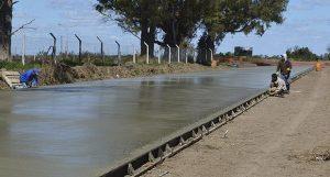 Pavimento de barrio Sancor