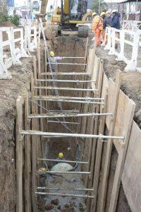 Construcción de una red cloacal para Ciudadela y otra para Saavedra