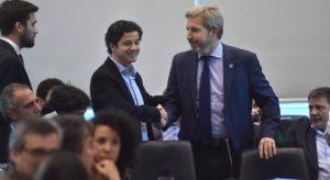 Frigerio reconoció que falta coordinación para ejecutar la obra pública
