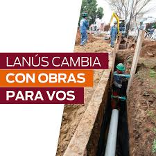 Convenios con Nación por casi $500 millones para obras en Lanús