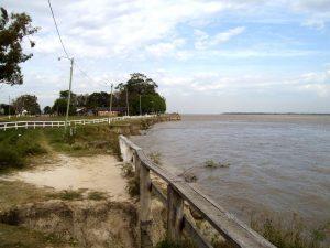 Invertirán $180 millones para construir defensas costeras en la localidad correntina de Lavalle