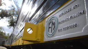 La Fábrica Militar de Río Tercero reactiva la reparación de vagones