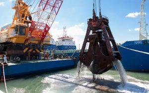Dos empresas presentaron ofertas para la obra de dragado del Puerto Mar del Plata