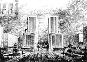 El frustrado proyecto de los edificios mellizos