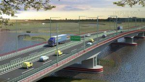 Macri confirmó una licitación para el puente Santa Fe-Santo Tomé y destacó avances en el de Santa Fe-Paraná