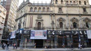 Restaurarán el centenario Teatro Nacional Cervantes