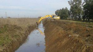 Ocho ofertas para la construcción de un desagüe pluvial sobre el canal Godeken