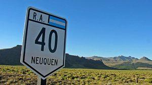 Vialidad Nacional licitó obras para la Ruta Nac. Nº 40 en Neuquén