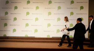 Vidal enfrenta el cartel de la construcción bonaerense y habilita empresas de otras provincias