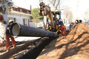 Un shock de obras públicas en el primer trimestre