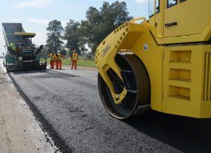 Repavimentación, Ensanche y Construcción de banquinas pavimentadas en R.P. n° 41
