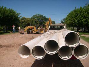 Bor Com construirá Cloacas en Areco $65 Millones