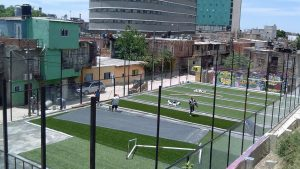 CABA $17 Millones en canchas de fútbol para barrios vulnerables