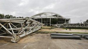Atrasos y exceso de gastos en el estadio de Parque Roca