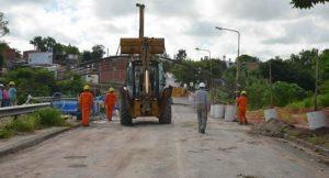 Paraná: Comenzó la construcción del puente de boulevard Moreno