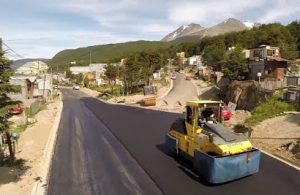 Canga SA repavimentara calle en Ushuaia $18 Millones