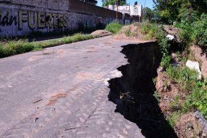 Coceramic reconstruira la barranca en Osinalde $3,3 Millones