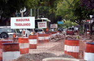 Renovación de calles del centro de Maipú $16 Millones