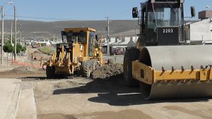 Comodoro Rivadavia obras de red de gas, cordón cuneta y pavimentación $26 Millones