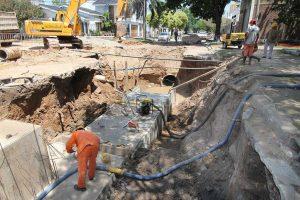 Montaño y Winkelmann construyen el desagüe El Sable $88 Millones