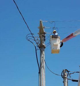 Adjudican a Ecop la reparación de la línea eléctrica hacia el oeste