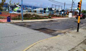 Cervantes, Apertura de sobres de la licitación para pavimentar la calle Hipólito Irigoyen