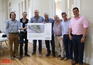 Quilmes avanza hacia la creación del Parque Escollera Sur $53 millones