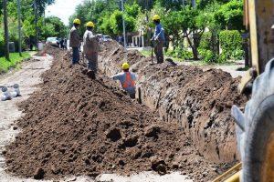 Desagües pluvioaluvionales para la localidad de Andacollo $45 Millones Una oferta.