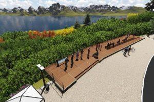 Circuito Chico de Bariloche con la construcción de un mirador panorámico 2 ofertas $2 millones